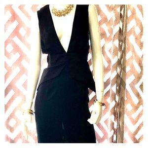 Lioness Midi black dress